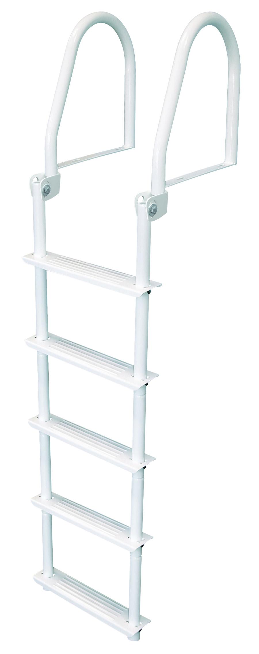 Jif Marine Flip Up Dock Ladder 3 5 Step Ladder With
