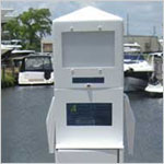 38 inch Dock Power Pedestal