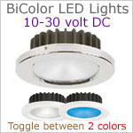 12 Volt BiColor LED Lights-Night Nav