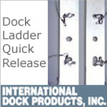 Dock Ladder Quick Release by International Dock Products
