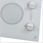 White Electric Cooktops