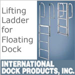 Dock Ladders - Floating Dock Lift style