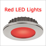 12 Volt Red LED Lights-Night Nav