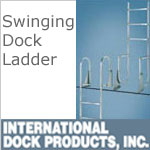 Dock Ladders - Swinging with 2 inch deep steps