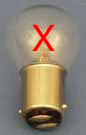Replace bayonet bulbs with LED bulbs