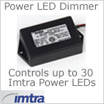 12 volt dimmer (12-24vdc) - Imtra PWM Dimmer Module with UL Box for up to 30 Imtra Power LED spots or fixtures, momentary operation