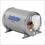 Marine Water Heater, Basic: 24L - 6 gallon, 115 volt, 750 watt, with mixing valve.