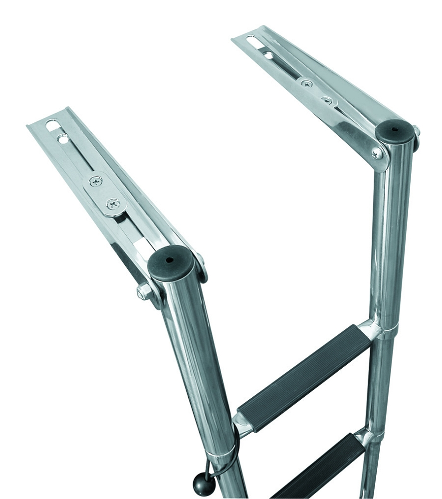 Jif Marine Slide Mount Transom Ladder With 4 Steps
