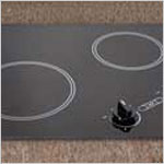 Electric Cooktop - Kenyon Arctic two burner Electric Cooktop, black with analog control (6 ½ & 8 inch) 120V UL