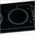 Electric Cooktop - Kenyon Caribbean Trimline, 2 x 6.5 inch Burner Electric Cooktop (each burner is 120v, 1200 watt, 10 amp)