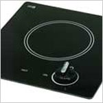 Electric Cooktop - Kenyon Caribbean, 6.5 inch Single Burner Electric Cooktop, 120v, 1200 watt, 10 amp