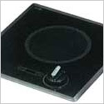 Electric Cooktop - Kenyon Mediterranean, 6.5 inch Single Burner Electric Cooktop, 120v, 1200 watt, 10 amp