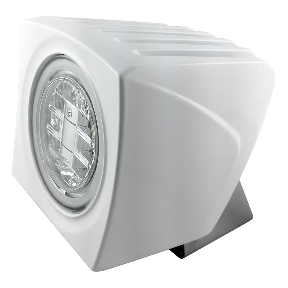 lumitec cayman led bracket mounted ip67 flood light 12 24 volt dc led light. Black Bedroom Furniture Sets. Home Design Ideas