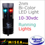 2 Nautical Mile Bi-Color Running LED Lights