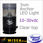 3 Nautical Mile All Round 360 degree White Anchor Led Light