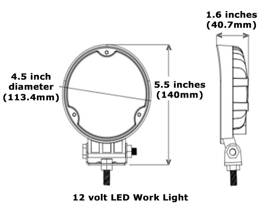 round led ip67 deck light by bee green led