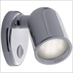 12 volt Reading Lights - Tube 8006 with Switch, CHROME colored with 5 Watt XENON Bulb