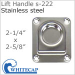 Lift Handle s-222, 316 stainless steel
