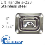 Lift Handle s-223, 316 stainless steel