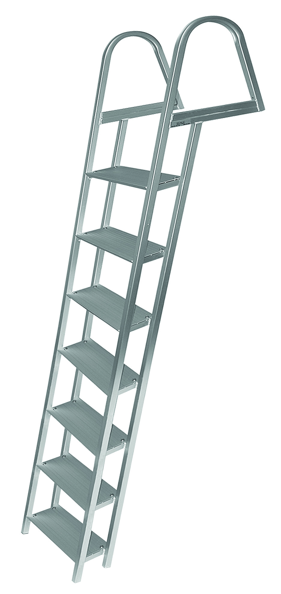 Jif Marine Fixed Angled Dock Ladder 3 4 5 Amp 7 Step