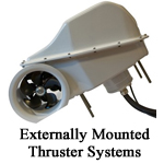 Externally Mounted Thruster Systems