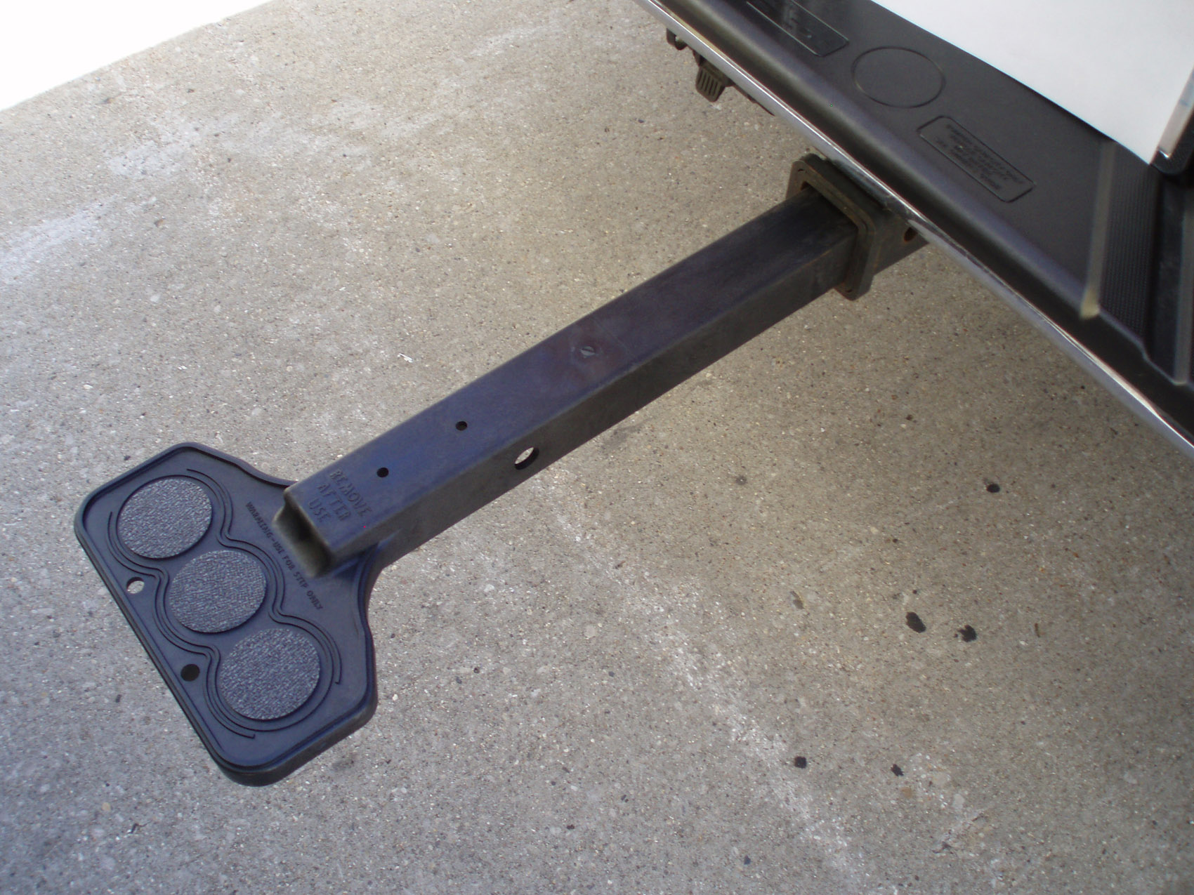 Truck Step Up >> Dr Shrink S First Step Up Hitch Step