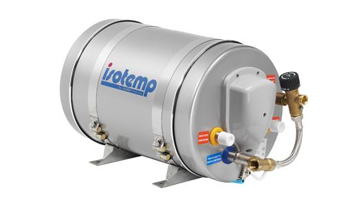 Marine Water Heater : Isotemp l gallon slim round marine water heater