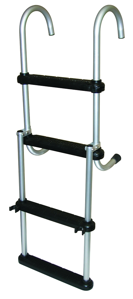 Jif Marine Removable Folding Pontoon Ladder 4 Or 5 Steps