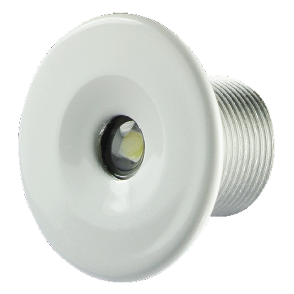 Marine courtesy lights boat accent lighting and downlights lumitec echo flush mount ip67 courtesy light 12 volt led accent light arubaitofo Image collections