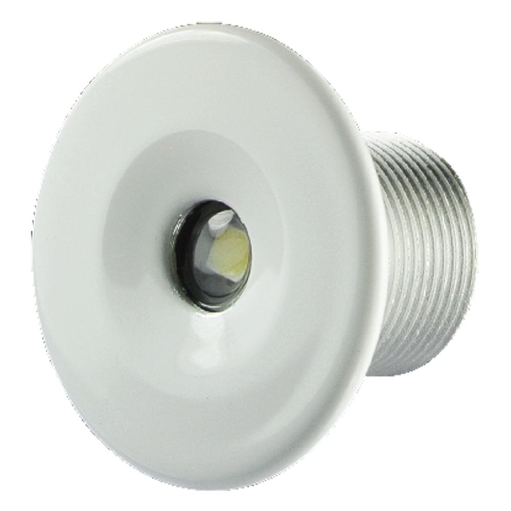 Lumitec Echo Flush Mount, IP67 Courtesy Light | 12 Volt LED Accent Light