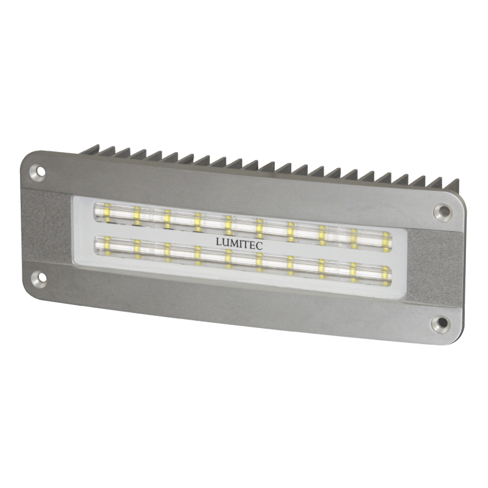 12 Volt Dc Led Light Fixtures: Lumitec Maxillume2 Flush Mounted, IP67 Flood Light