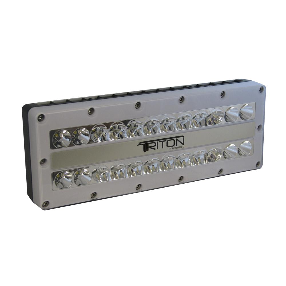lumitec triton led surface mounting ip67 flood light 12 24 120 or 240 v. Black Bedroom Furniture Sets. Home Design Ideas