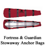 Fortress and Guardian Anchor Stowaway Bags