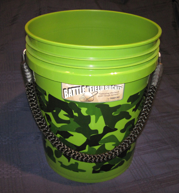 Battle Field Buckets Custom colored, Heavy-Duty Rope-Handled 5 ...