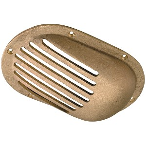 "Perko 5"" x 3-1/4"" Scoop Strainer Bronze MADE IN THE USA"
