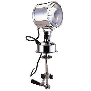 "Perko 7"" Searchlight - 12V - Chrome"
