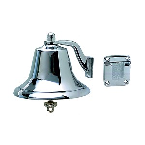 Perko Chrome Plated Bronze Fog Bell - 6""