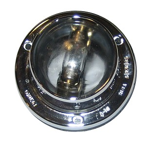 Perko Vertical Mount Stern Light Chrome Plated