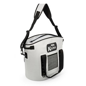 Kuuma 33 Quart Soft-Sided Cooler w/Sealing Zipper - Waterproof Coated Nylon
