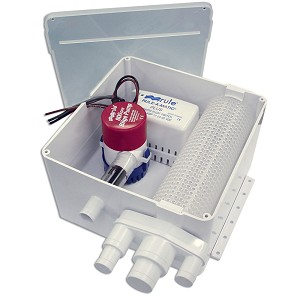 Rule Multi Port Shower Drain System - 24v