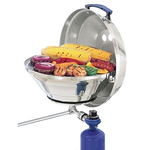"Magma Marine Kettle Gas Grill Original 15"" w/Hinged Lid"