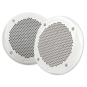 "FUSION 6.5"" Round 2-Way Speakers - 200W - (Pair) White"