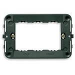 Vimar Idea Mounting Frame with Screws, 3 Modules, Grey, Vimar