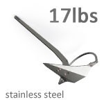 Mantus 17 Pound Stainless Steel Anchor