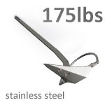 Mantus 175 Pound Stainless Steel Anchor