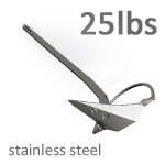 Mantus 25 Pound Stainless Steel Anchor