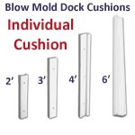 Individual Blow Mold Dock Cushion