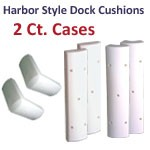2-Pack of Firm or Flex Harbor Style Dock Cushion