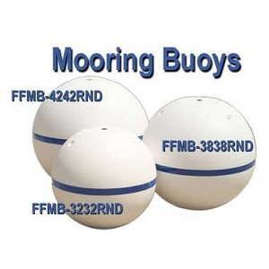 Round 38 Inch Mooring Buoy | Foam Filled Anchor Buoy