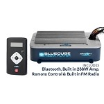 Aquatic AV BlueCube 'Hide-away' Stereo - With Remote and Radio
